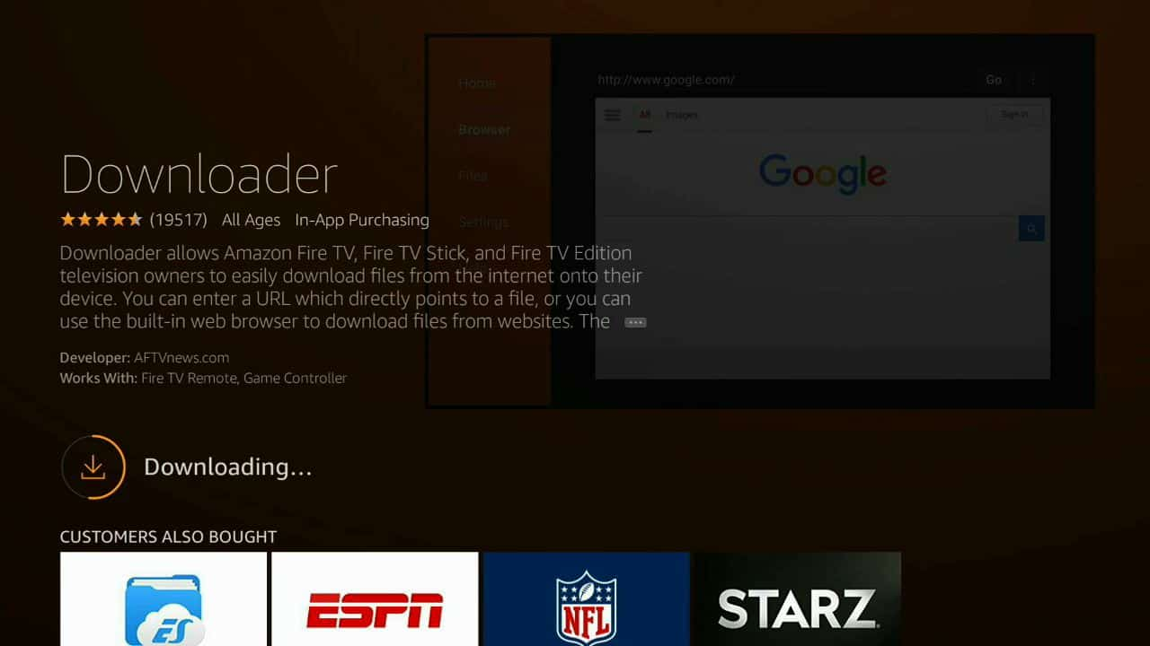 how to install CyberFlix TV of firestick step 4, step four cyberFlix TV installation guide,best apps for fire stick tv,best fire stick app,best fire tv apps,best fire tv stick,best movie app for amazon fire stick,best tv for amazon fire stick,connect amazon fire stick to tv,download free apk files for a