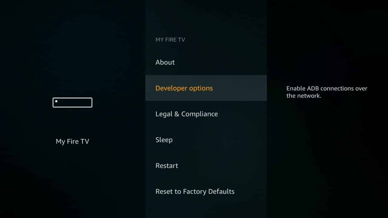 how to install Kodi of firestick step 3,
