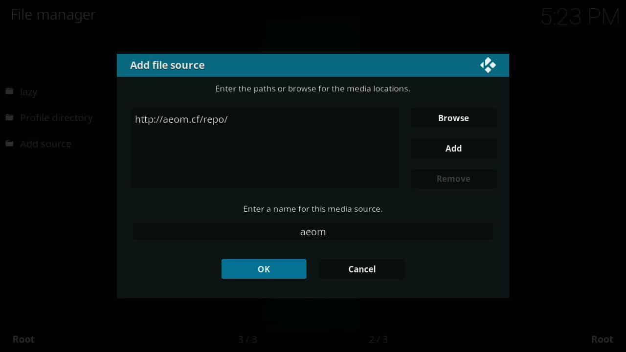 how to install Covenant of firestick step 4,
