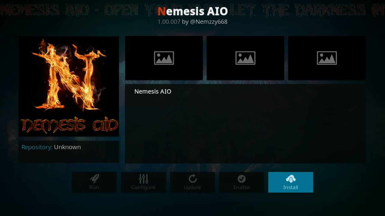 how to install Nemesis of firestick step 9,