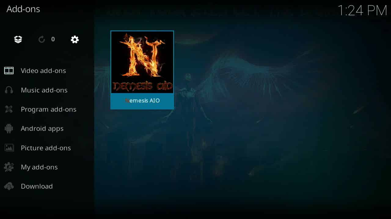 how to install Nemesis of firestick step 10,