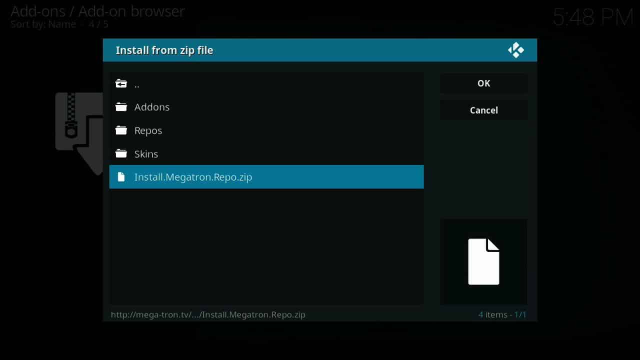 how to install Fists O Fury of firestick step 8,