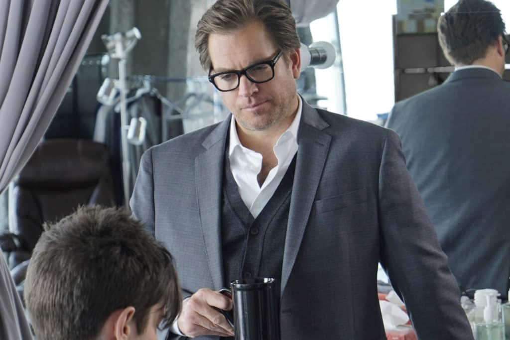 BULL stars Michael Weatherly as Dr. Jason Bull in a drama inspired by the early career of Dr. Phil McGraw, the founder of one of the most prolific trial consulting firms of all time. Bull employs an enviable team of experts at Trial Analysis Corporation, including Chunk Palmer (Chris Jackson), a fashion-conscious stylist and former All-American lineman who fine tunes clients' appearances for trial.  This fall, BULL will be broadcast Tuesdays (9:00-10:00 PM, ET/PT) on the CBS Television Network.  Photo: David M. Russell/CBS ©2016 CBS Broadcasting, Inc. All Rights Reserved