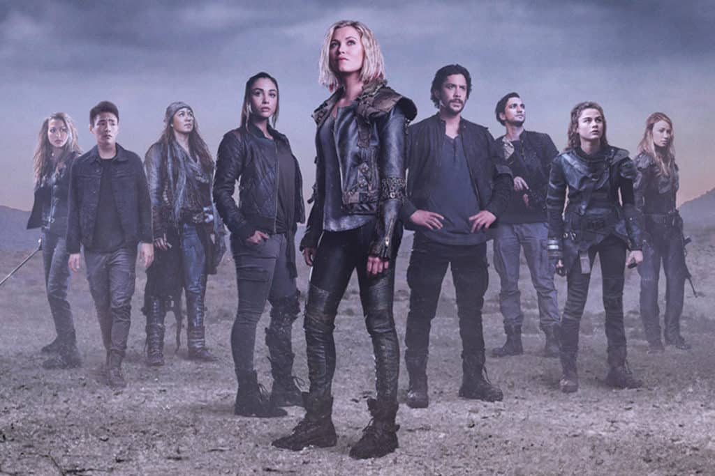 The 100 -- Image Number: HUN5_KeyArt.jpg -- Photo: © 2018 The CW Network, LLC. All Rights Reserved.