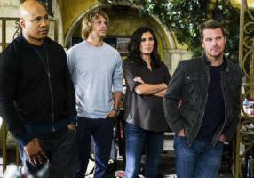 """High-Value Target"" and ""Belly of the Beast"" -- Pictured: LL COOL J (Special Agent Sam Hanna), Chris O'Donnell (Special Agent G. Callen), Daniela Ruah (Special Agent Kensi Blye) and Chris O'Donnell (Special Agent G. Callen). After NCIS fails to locate a mole in the department, Under Secretary of Defense Corbin Duggan (Jackson Hurst) insists on new leadership and takes over the Los Angeles unit from Hetty and Granger.  Also, the team travels to Syria to apprehend a High Value Target where one team member is severely injured when the mission goes awry, on the special two hour eighth season premiere of NCIS: LOS ANGELES, Sunday, Sept. 25 (8:30-10:30 PM, ET/8:00-10:00 PM, PT), on the CBS Television Network. Photo: Richard Cartwright/CBS ©2016 CBS Broadcasting, Inc. All Rights Reserved."